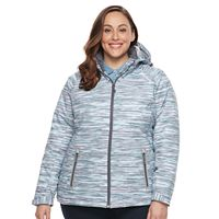 Plus Size Free Country Softshell Puffer Jacket