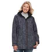 Plus Size Free Country Hooded Soft Shell Jacket