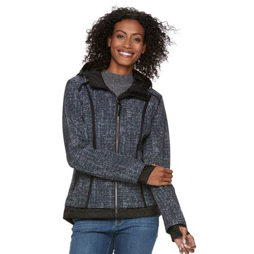 Womens Free Country Quilted Softshell Jacket
