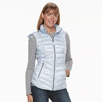 Women's Tek Gear Hooded Puffer Vest
