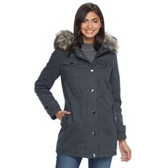 Womens Grey Parka Coats & Jackets - Outerwear, Clothing | Kohl's