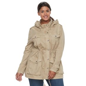 Plus Size Apt. 9® Hooded Parka