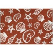 Couristan Outdoor Escape Cardita Shells Indoor Outdoor Rug