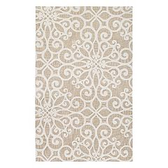 Couristan Bowery Livonia Floral Wool Rug