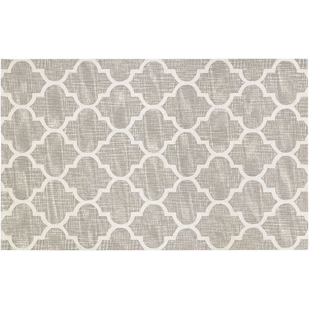 Couristan Bowery Chauncey Quatrefoil Wool Rug