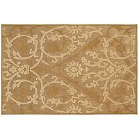 Couristan Urbane Astor Scroll Indoor Outdoor Rug