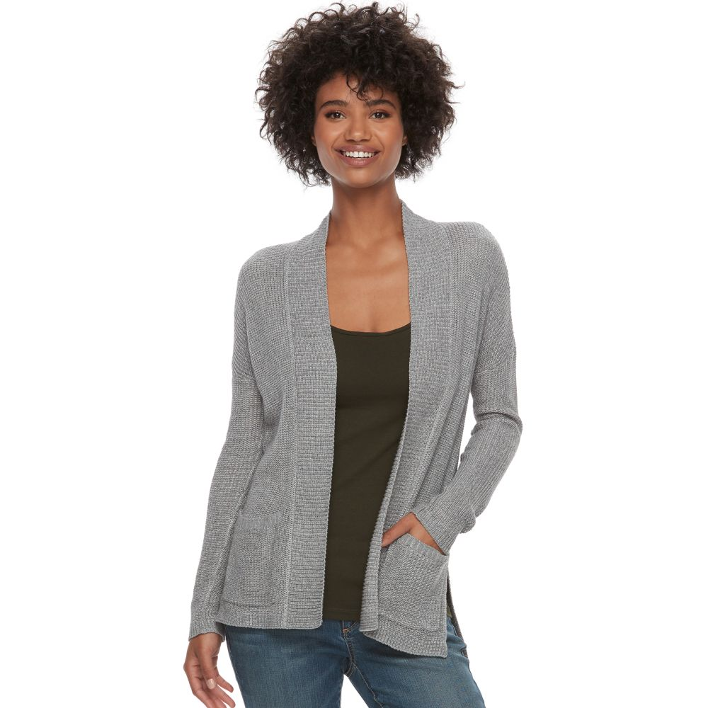 SONOMA Goods for Life™ High-Low Cardigan Sweater