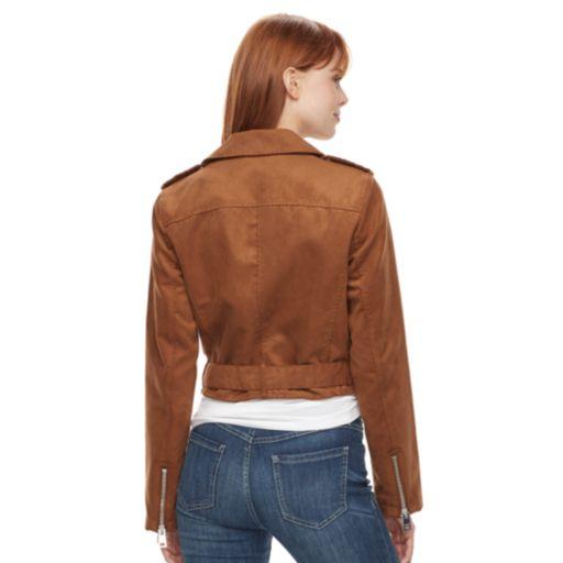 Women's Levi's Faux-Suede Moto Jacket