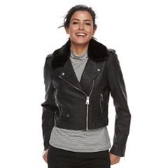 Women's Levi's Asymmetrical Faux-Leather Moto Jacket