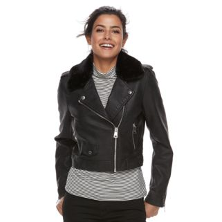 Women's Levi's Asymmetrical Faux-Leather Moto Jacket