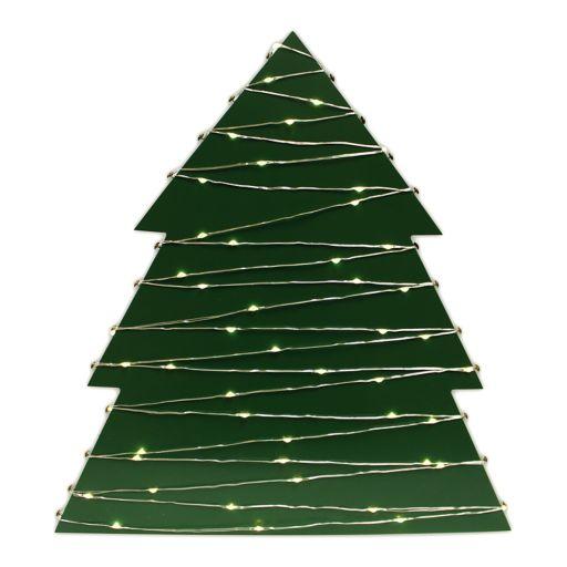 Harbortown Light-Up Card Holder Christmas Table Decor