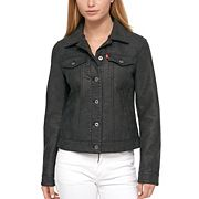 Women's Levi's Classic Faux Leather Trucker Jacket