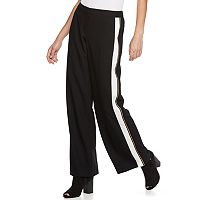 Women's Apt. 9® Side Stripe Wide-Leg Pants