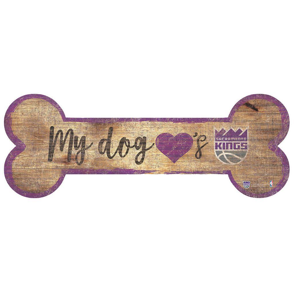 Sacramento Kings Dog Bone Wall Sign