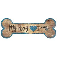 Orlando Magic Dog Bone Wall Sign