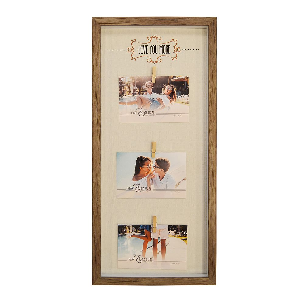 New View Love You More 3 Opening Photo Clip Fashion Collage Frame