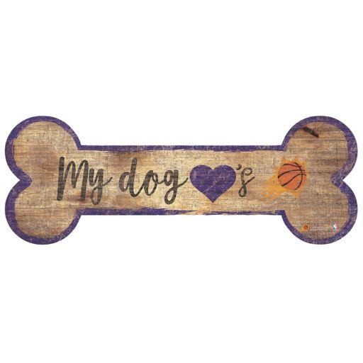 Phoenix Suns Dog Bone Wall Sign