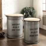 Neu Home 2-pack Storage Bin & Lid Set