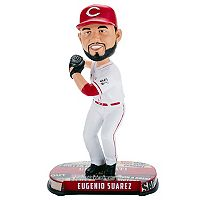 Forever Collectibles Cincinnati Reds Eugenio Suarez Bobble Head