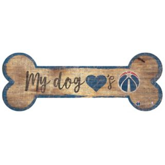 Washington Wizards Dog Bone Wall Sign