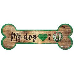 Boston Celtics Dog Bone Wall Sign
