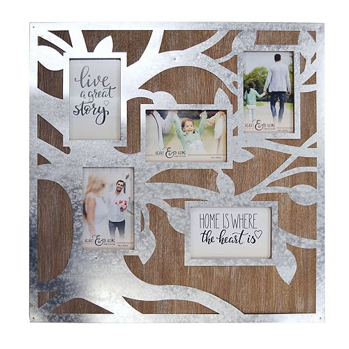New View Family Tree 5 Opening Fashion Collage Frame