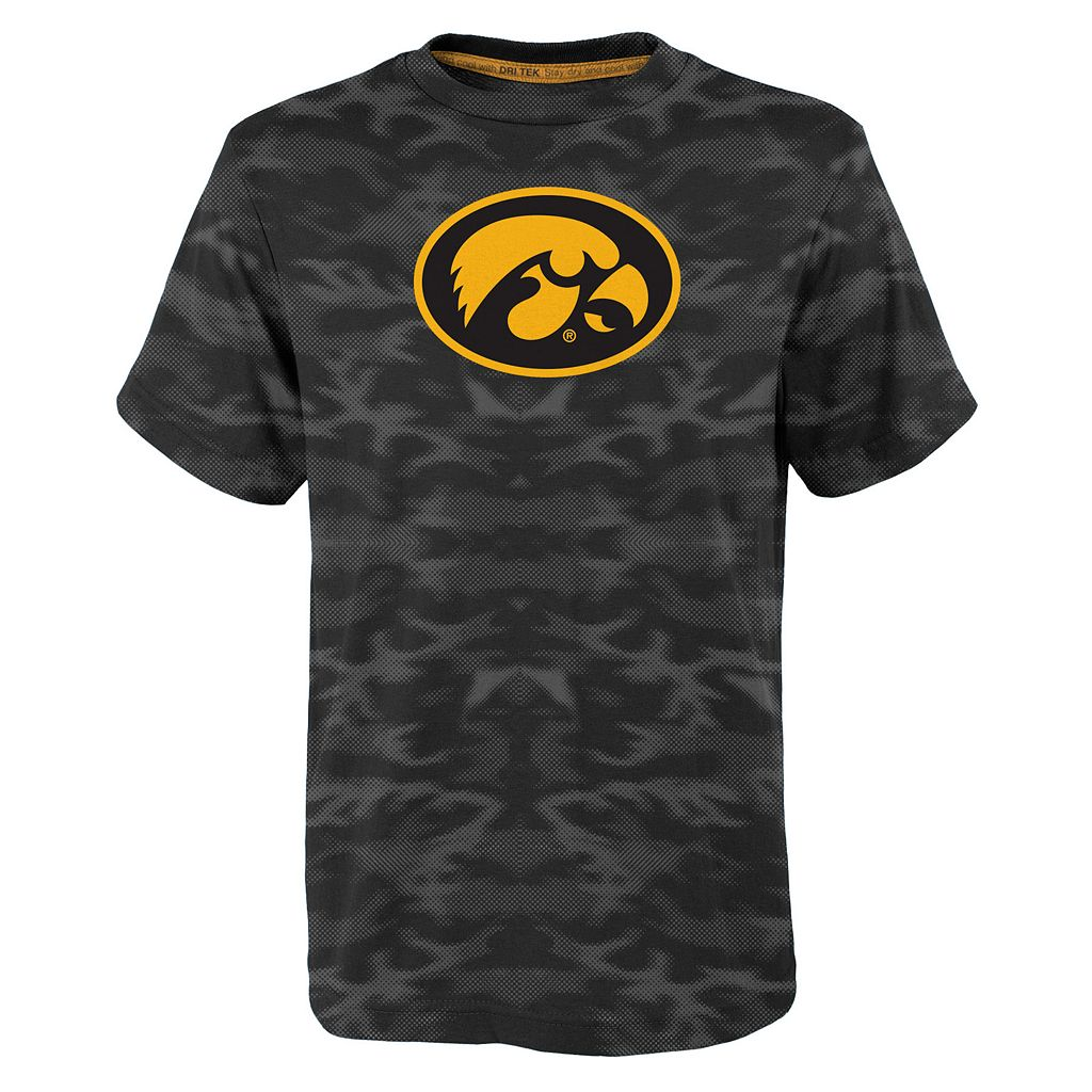 Boys 4-7 Iowa Hawkeyes Vector Dri-Tek Tee