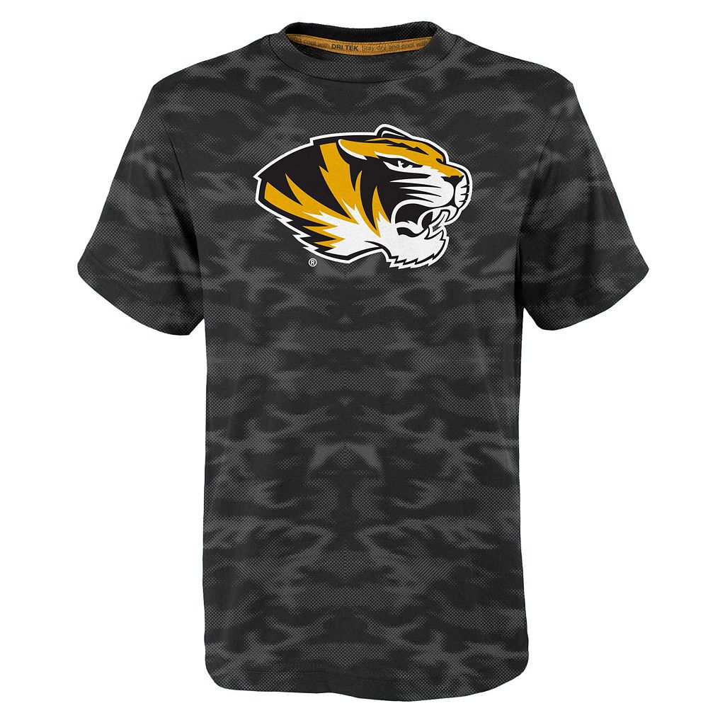 Boys 4-7 Missouri Tigers Vector Dri-Tek Tee