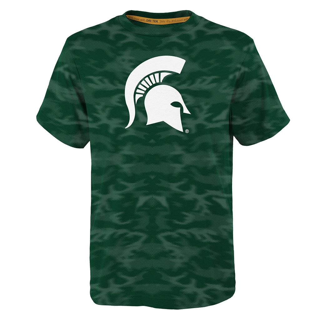 Boys 4-7 Michigan State Spartans Vector Dri-Tek Tee