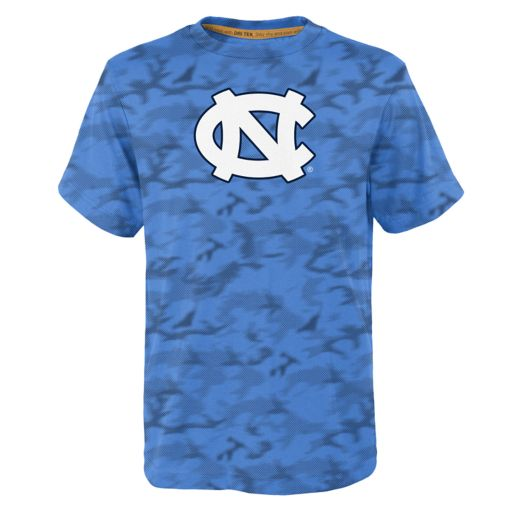Boys 4-7 North Carolina Tar Heels Vector Dri-Tek Tee
