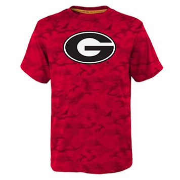 Boys 4-7 Georgia Bulldogs Vector Dri-Tek Tee