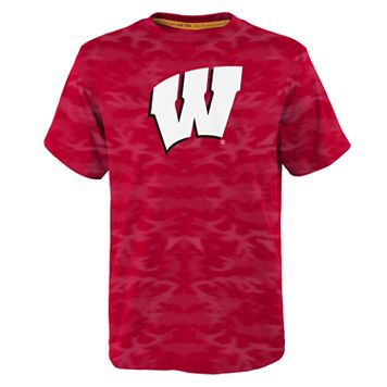 Boys 4-7 Wisconsin Badgers Vector Dri-Tek Tee
