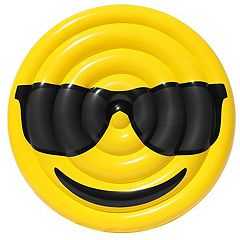 Sportsstuff Emoji Cool Guy/Nerd Pool Float