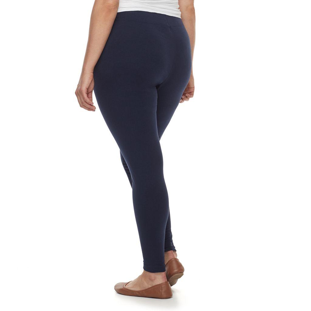 Plus Size SONOMA Goods for Life™ Jersey Leggings