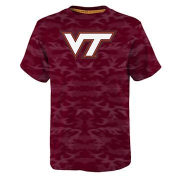 Boys 4-7 Virginia Tech Hokies Vector Dri-Tek Tee