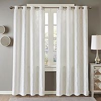 Madison Park Cabot Semi Sheer Jacquard Window Curtain