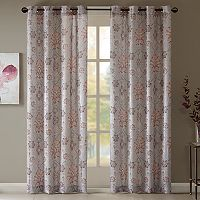 Madison Park Amber Textured Window Curtain
