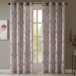 Madison Park Amber Textured Curtain