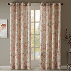 Madison Park Amber Textured Window Curtain