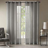 Madison Park Teagan Metallic Curtain
