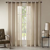 Madison Park Teagan Metallic Window Curtain
