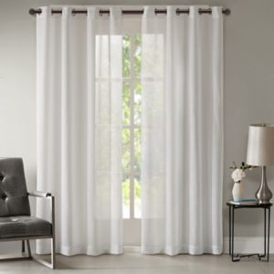 Madison Park Teagan Metallic Curtain