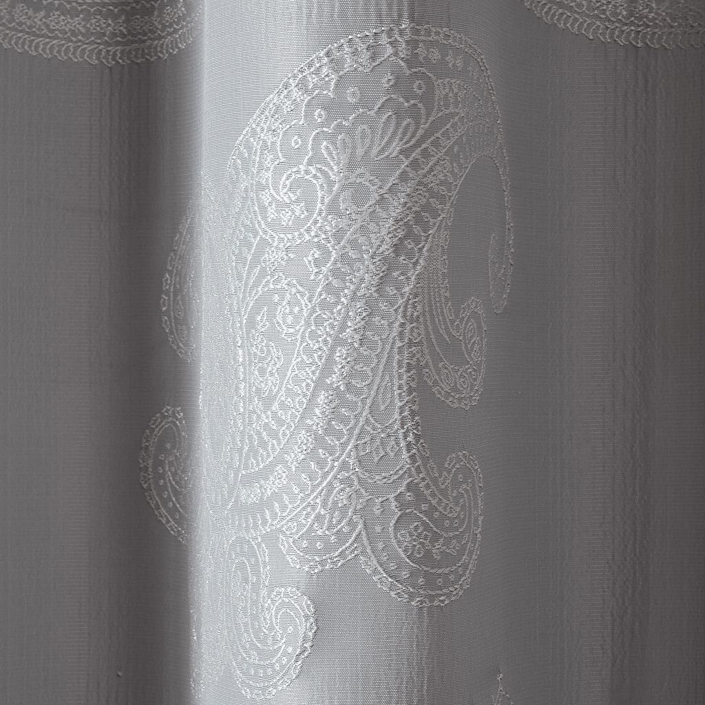 Madison Park Colette Paisley Jacquard Window Curtain