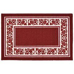 Madison Floral Framed Rug