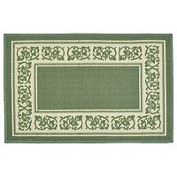 Madison Floral Framed Rug