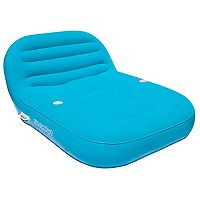 Sun Comfort Cool Suede Double Chaise Lounge