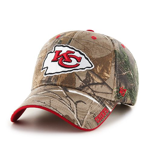 13255a88 Adult '47 Brand Kansas City Chiefs Frost Realtree Adjustable Cap