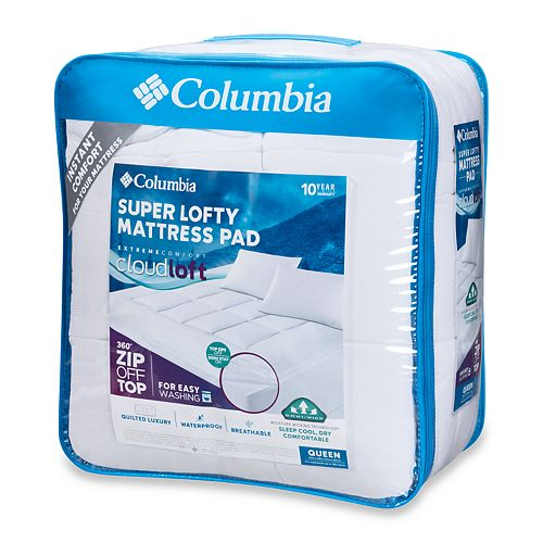 Columbia 360 Zip-off Mattress Pad
