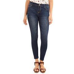 Juniors' Wallflower Irresistible Skinny Jeans