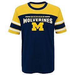 Boys 4-7 Michigan Wolverines Loyalty Tee